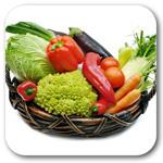 Свежие овощи, грибы