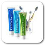 Зубная паста, эликсиры