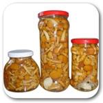 Грибные закуски, Мар. грибы